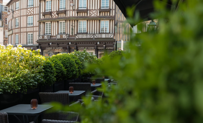 Terrasse Les Maisons de Léa