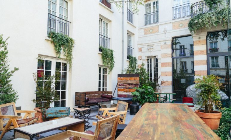 Terrase Kube Hôtel Paris