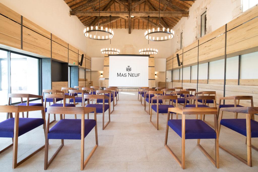 Une salle de séminaire atypique en Occitanie