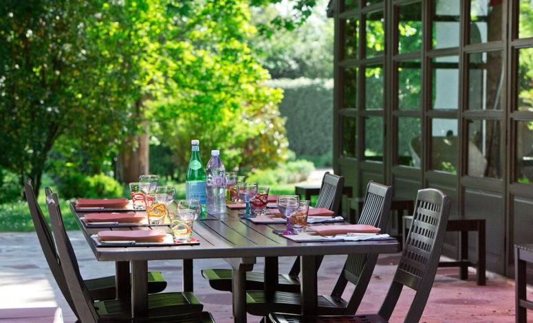 terrasse villa privée