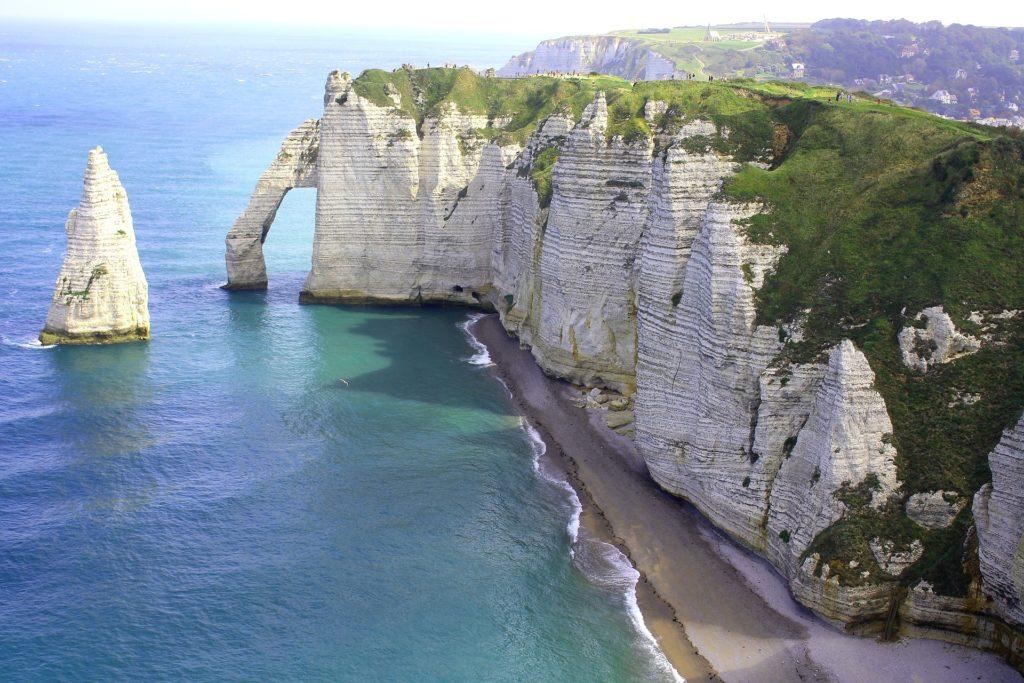 Falaises de craies Normandie