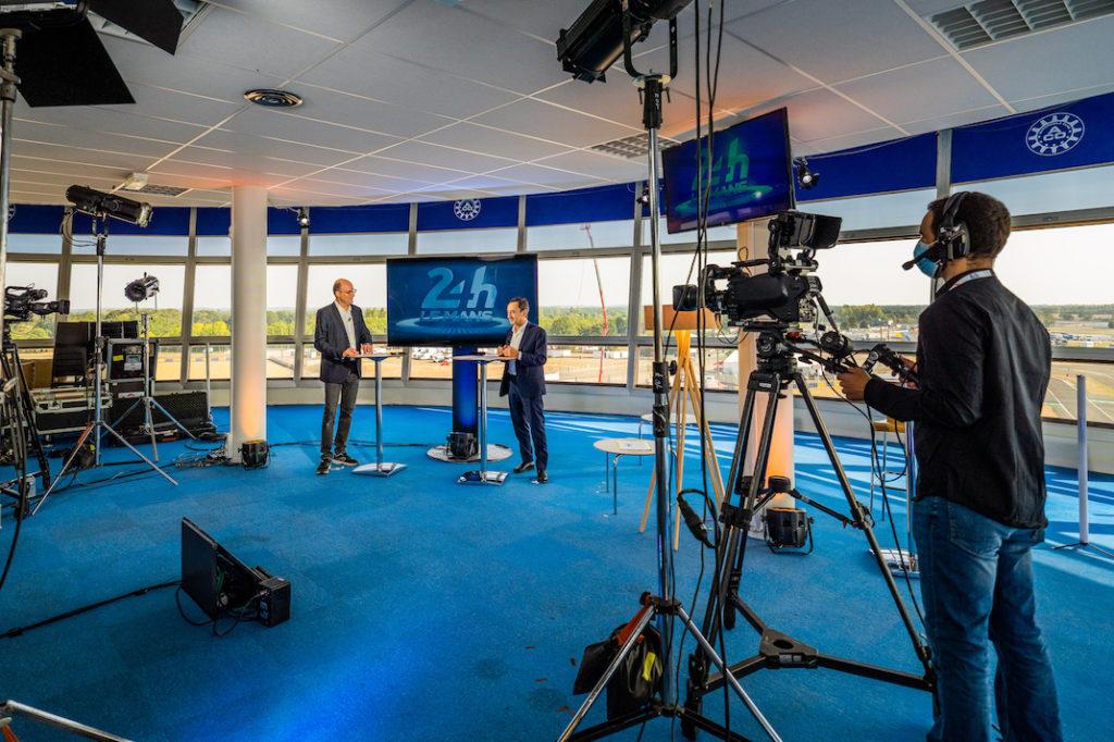 Evenement virtuel - studio TV