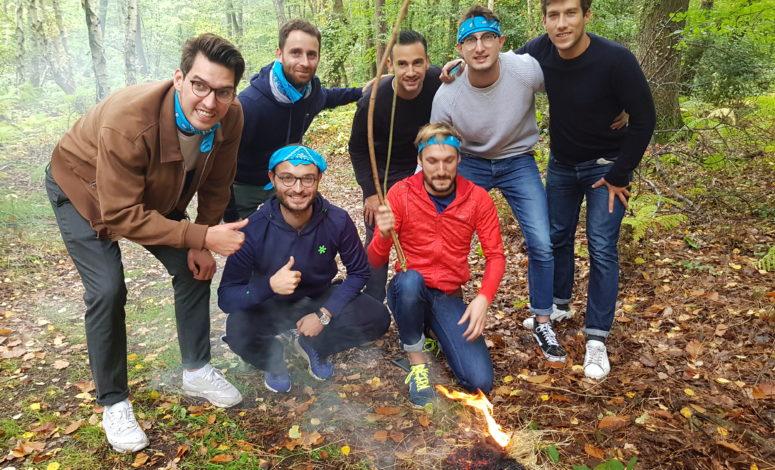 Team building outdoor sportif
