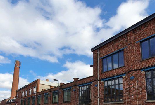 Une ancienne usine industrielle à Roubaix