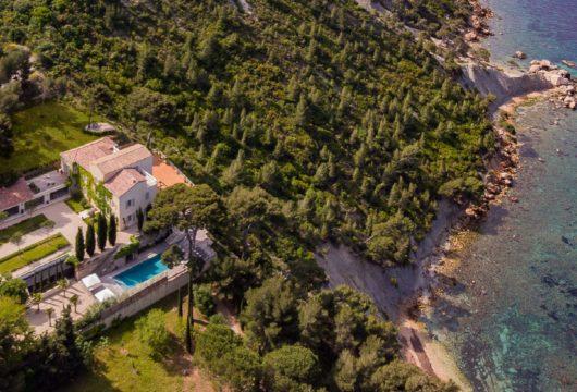 Une villa de luxe à Cassis