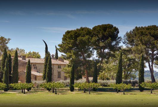 Un château privé dans le Luberon