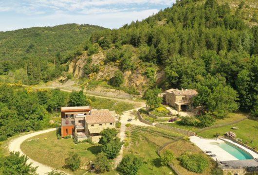 Hameau de prestige en Drôme